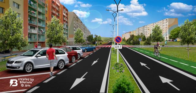 Revitalizácia Petržalskej ulice