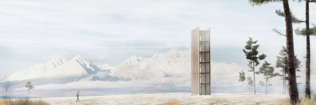Vyhliadková veža Kežmarok