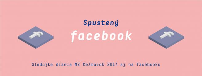 Spustený Facebook k projektu